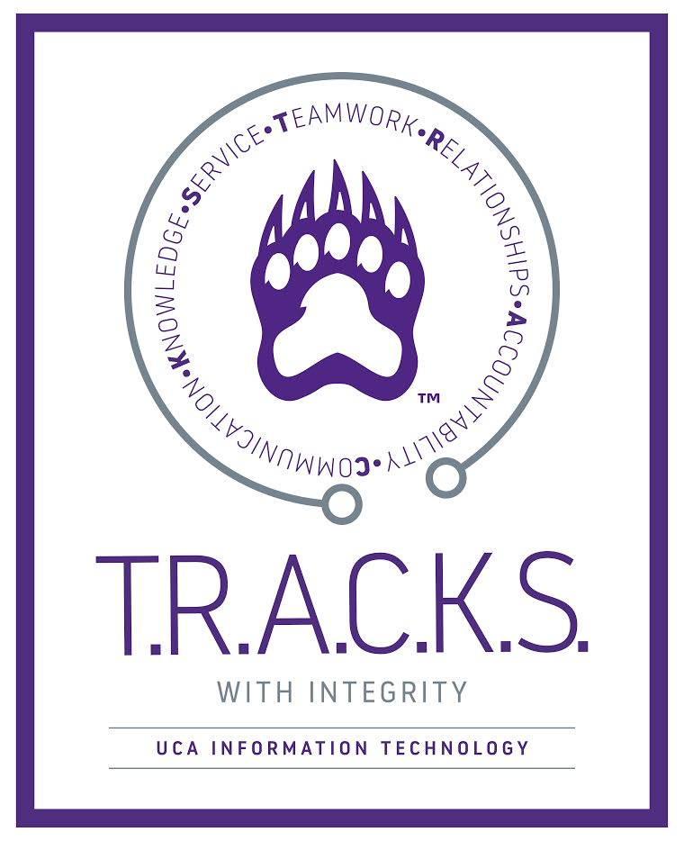 T.R.A.C.K.S. with Integrity Logo